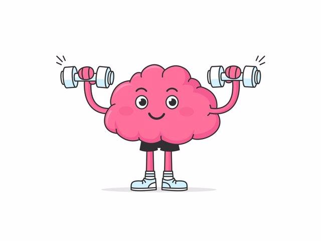 Cerebro ejercitándose, memoria