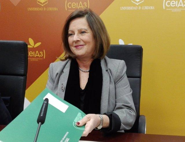 La consejera de Igualdad y Políticas Sociales, María José Sánchez Rubio