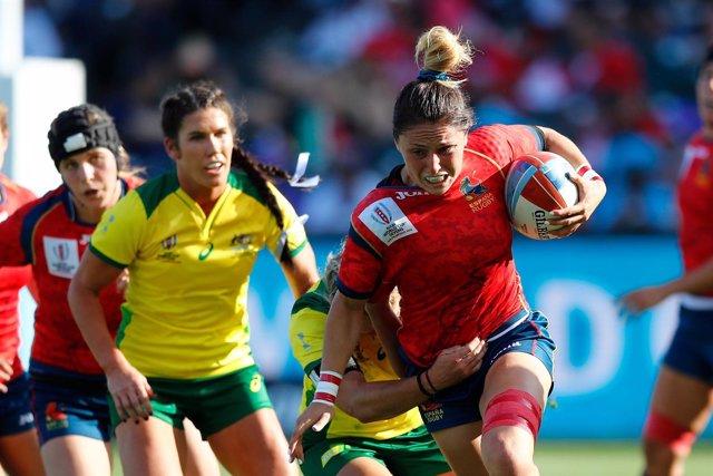 La selección española femenina de rugby en el Mundial de Seven