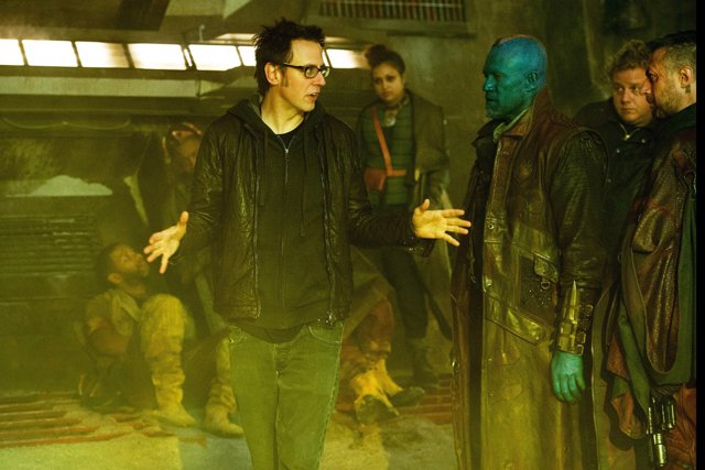 James Gunn dirigiendo