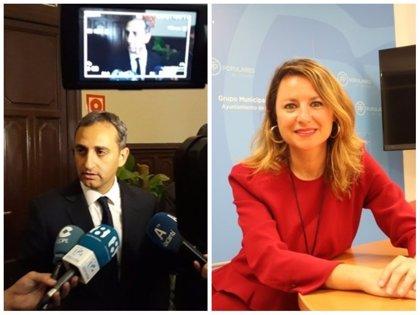 César Sánchez y Begoña Carrasco, los dos integrantes valencianos de la lista de Pablo Casado para el Comité Ejecutivo