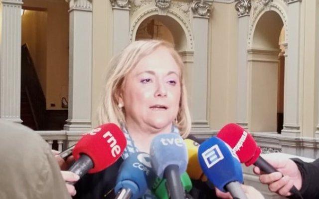 'En el PP de Asturias estamos detrás de Pablo Casado como hicimos con Rajoy', afirma Mercedes Fernández (PP)