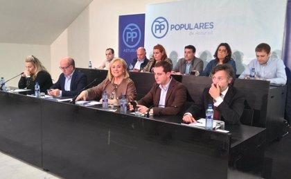Venta Cueli sale de la Ejecutiva del PP, repite Reyes Fernández Hurlé y entra Pablo Álvarez-Pire