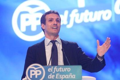 Cargos y representantes andaluces del PP expresan por redes sociales sus felicitaciones a Pablo Casado