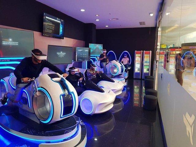 '7fun' lleva a Logroño 'Immotion', una de las mayores experiencias de realidad virtual de España