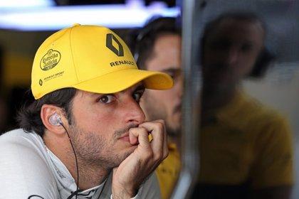 """Sainz: """"El equipo le dio el alerón a Hülkenberg y yo he notado menos carga aerodinámica"""""""