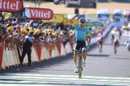 Omar Fraile logra la primera victoria española en el Tour tras coronar Mende