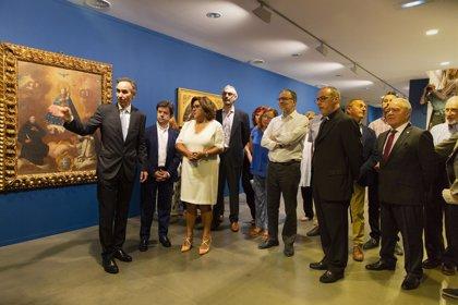 Una exposición de la DPH descubre a fray Manuel Bayeu, uno de los pintores aragoneses más prolíficos