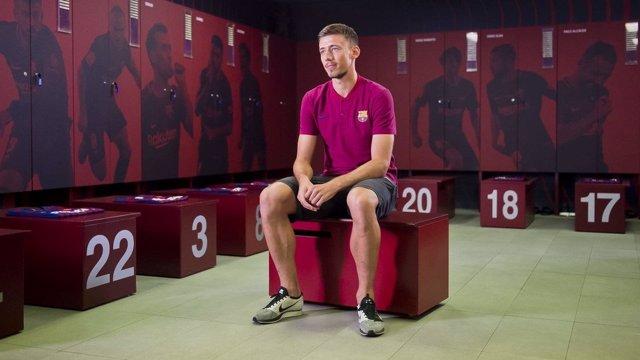 El reciente fichaje del FC Barcelona Clément Lenglet