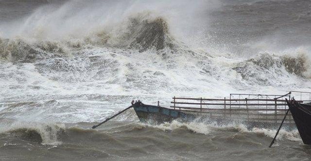 Tifón Usagi en China