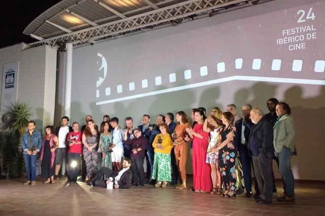 Foto de familia del Festival Ibérico de Cine de Badajoz