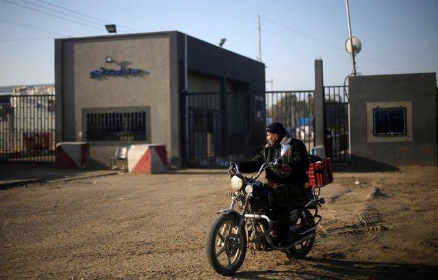 Paso fronterizo de Kerem Shalom, en Gaza
