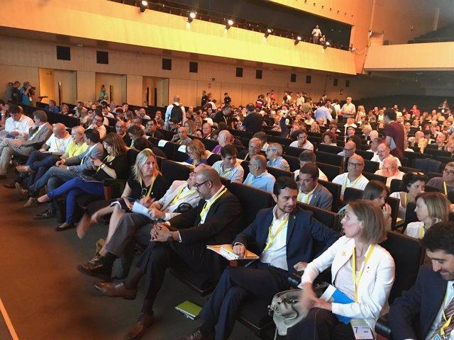 El PDeCAT celebra su Assemblea Nacional en el Palau de Congressos de Catalunya
