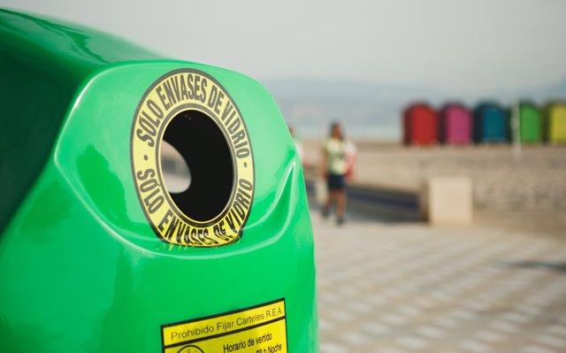 El reciclaje de vidrio en Canarias crece un 6,6% en el primer semestre