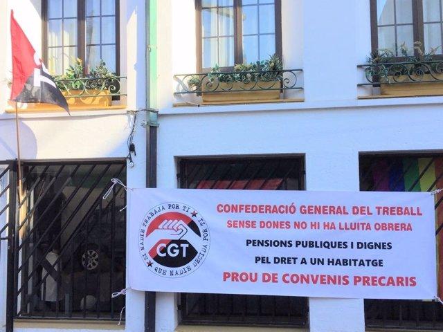 CGT se implanta en Ibiza