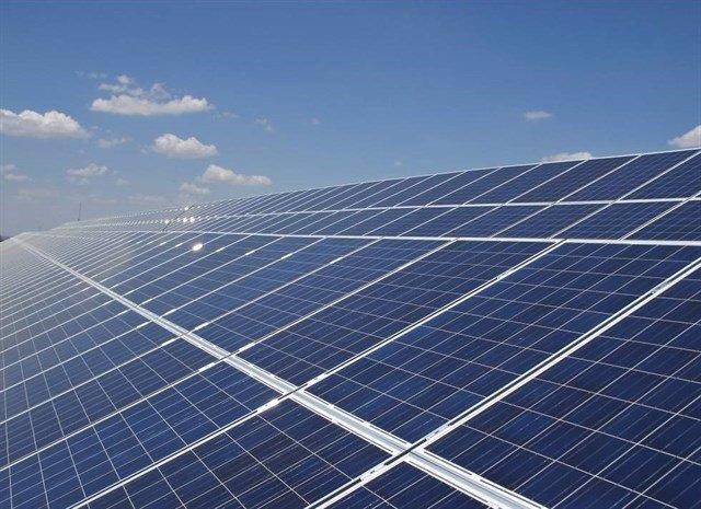 Planta fotovoltaica, en una imagen de archivo