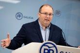 """Foto: Tellado ve a Feijóo como el """"referente de la política autonómica"""" bajo el liderazgo de Casado"""