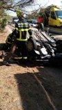 Cuatro muertos en accidentes de tráfico en las carreteras andaluzas durante el fin de semana