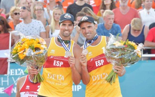 Herrera y Gavira, bronce en el Campeonato de Europa