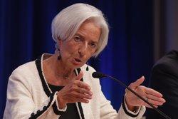 L'avió en el qual viatjava Lagarde duu a terme un aterratge d'emergència a Argentina (CHIP SOMODEVILLA - Archivo)