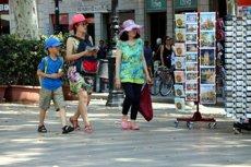 Les pernoctacions en hotels de la ciutat de Barcelona al juny retrocedeixen un lleuger 0,17% en relació amb l'any passat (ACN)