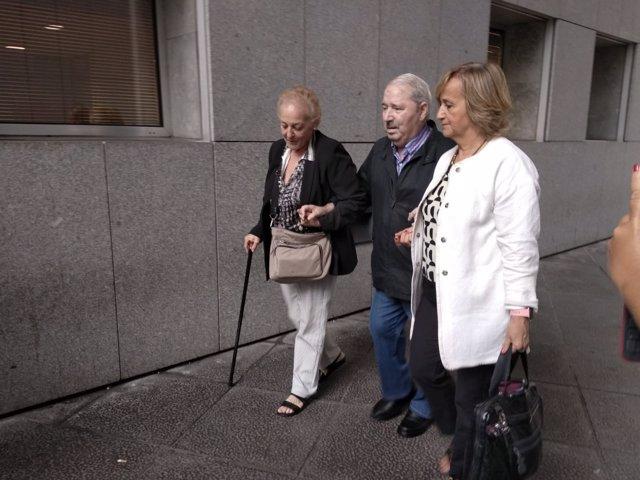 José Ángel Fernández Villa a su llegada al juzgado la pasada semana.