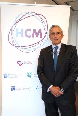 El gerente de Hospitales Católicos de Madrid, José Cordero
