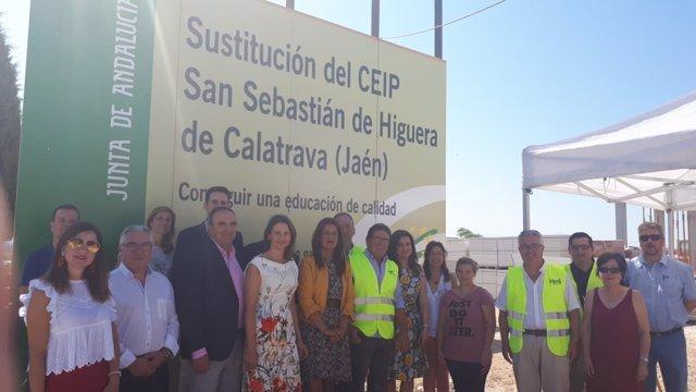 Visita a las obras del nuevo CEIP