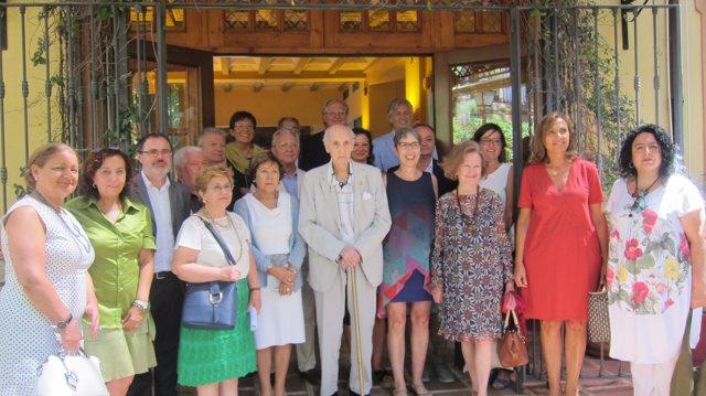 Grisolía junto a los miembros del CVC renovados o nombrados de nuevo