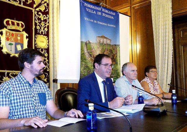 Nota Prensa Vii Jornadas Romanas De La Villa De Noheda