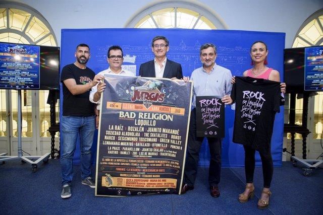 El 'Juergas Rock' luchará contra las agresiones sexuales en el festival.
