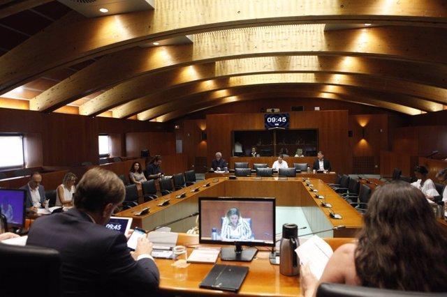 Comisión de Hacienda, Presupuestos y Administración Pública de las Cortes