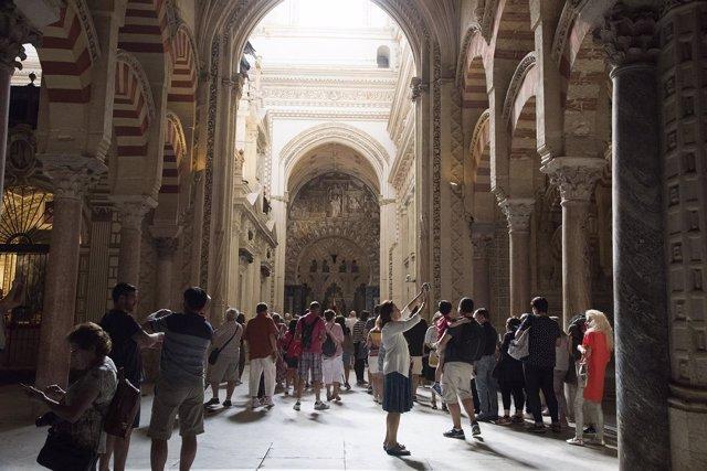 Interior de la Mezquita-Catedral