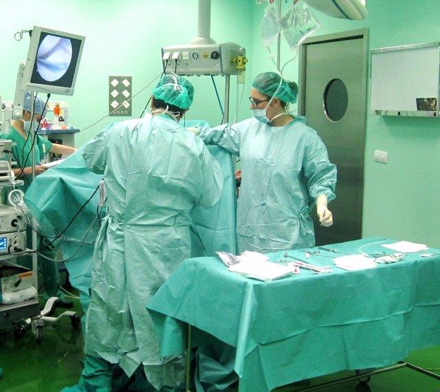 Intervención en el Hospital de Puente Genil