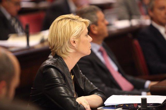 Aina Aguiló, en una imagen de archivo cuando formaba parte del PP