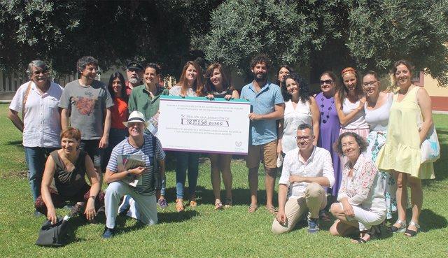 Participa Sevilla dona 18 mil euros a proyectos sociales primer semestre 2018