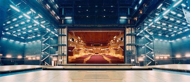 Escenario del Palacio Euskalduna