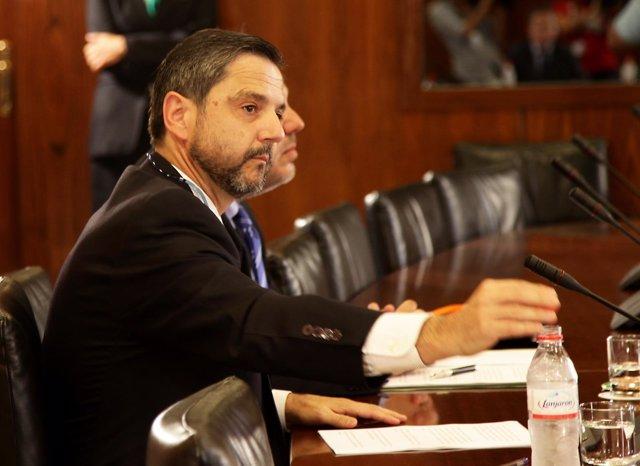 Fernando Mellet comparece en la comisión del caso ERE