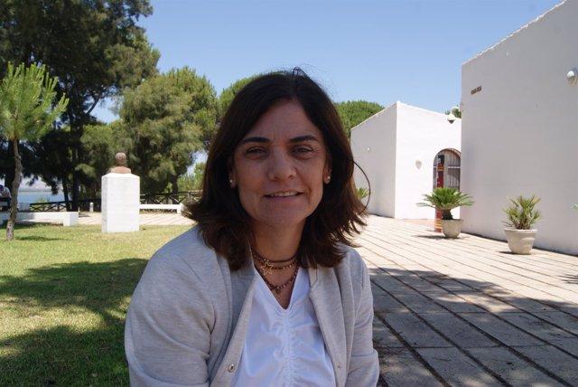 Paloma Favieres, en los cursos de verano de la UNIA