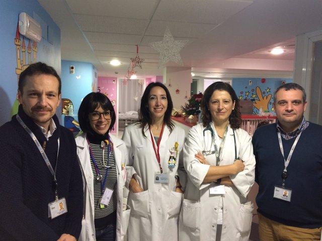 Investigadores participantes en el ensayo
