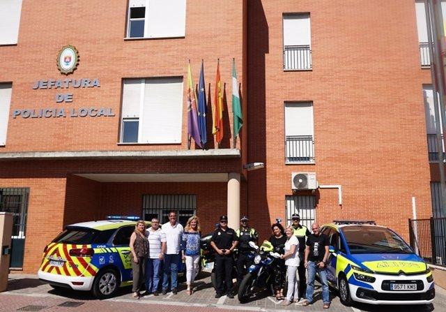 La Policia Local De Castilleja Sevilla Incorpora Dos Nuevos Vehiculos Con Camaras Y Desfibriladores A Su Flota