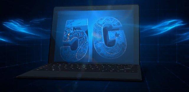 Ordenador Intel con 5G