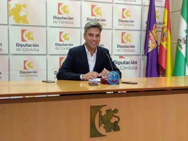 Andrés Lorite en la Diputación