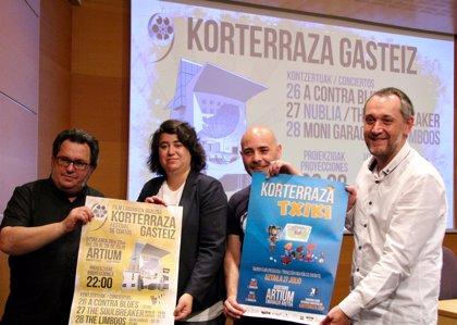 Korterraza proyectará del 26 al 28 de julio en Vitoria 42 cortos y 5 conciertos
