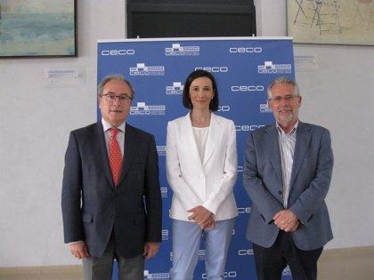 La nueva directora general de Rabanales 21 en Córdoba se reúne con el presidente de CECO