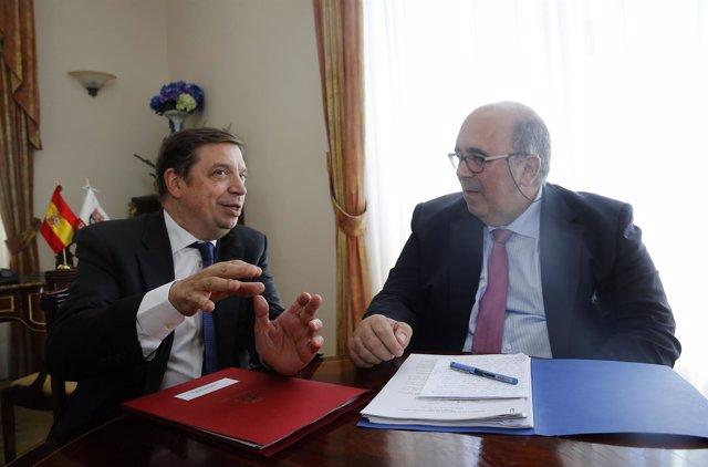 Oria y Luis Planas