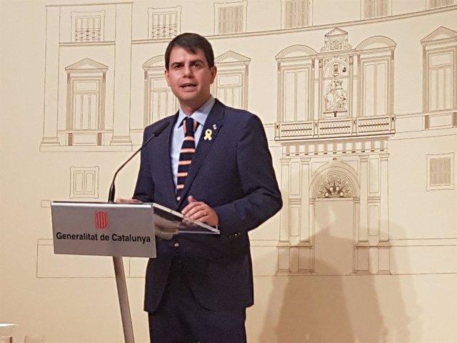 El presidente de la Diputación de Barcelona, Marc Castells