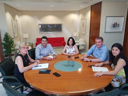 Jorge Rodríguez retoma la actividad como alcalde de Ontinyent con una reunión sobre el futuro hospital
