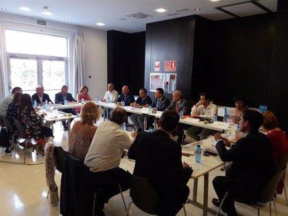 Políticos, sindicatos y empresarios reclaman el tramo Sagunto-Teruel-Zaragoza en los ejes prioritarios de la UE