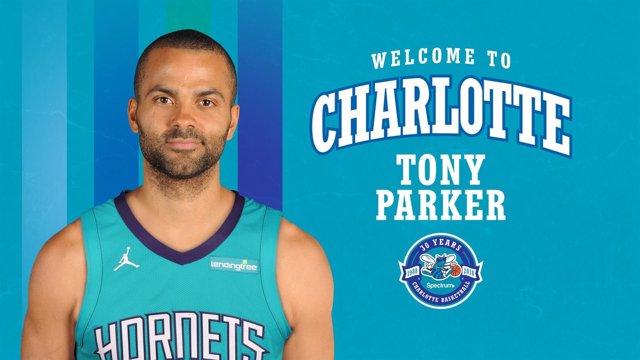 Tony Parker firma por los Charlotte Hornets